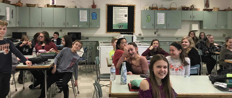 A seventh grade LME class,