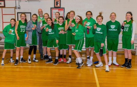 West Middle School Basketball Lady Bulldogs