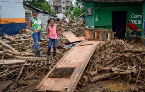 Hurricane Maria Hits