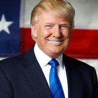 Donald Trump 45th president of the United States