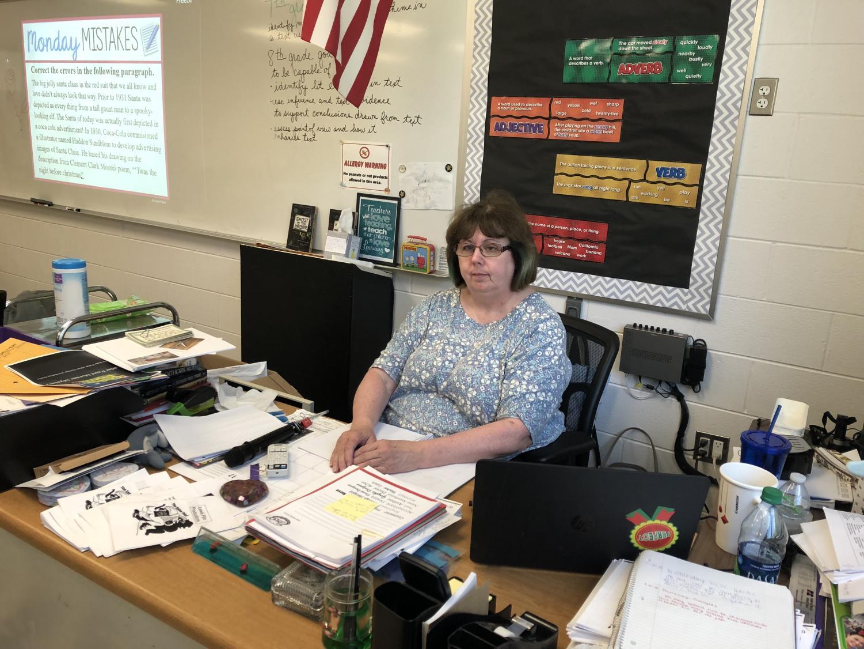 Ms. Palmer, 8th and 7th ELA teacher, is retiring!