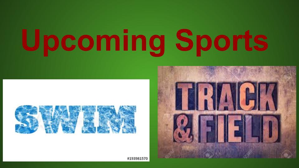 Swim and Track & Field are coming soon to West!