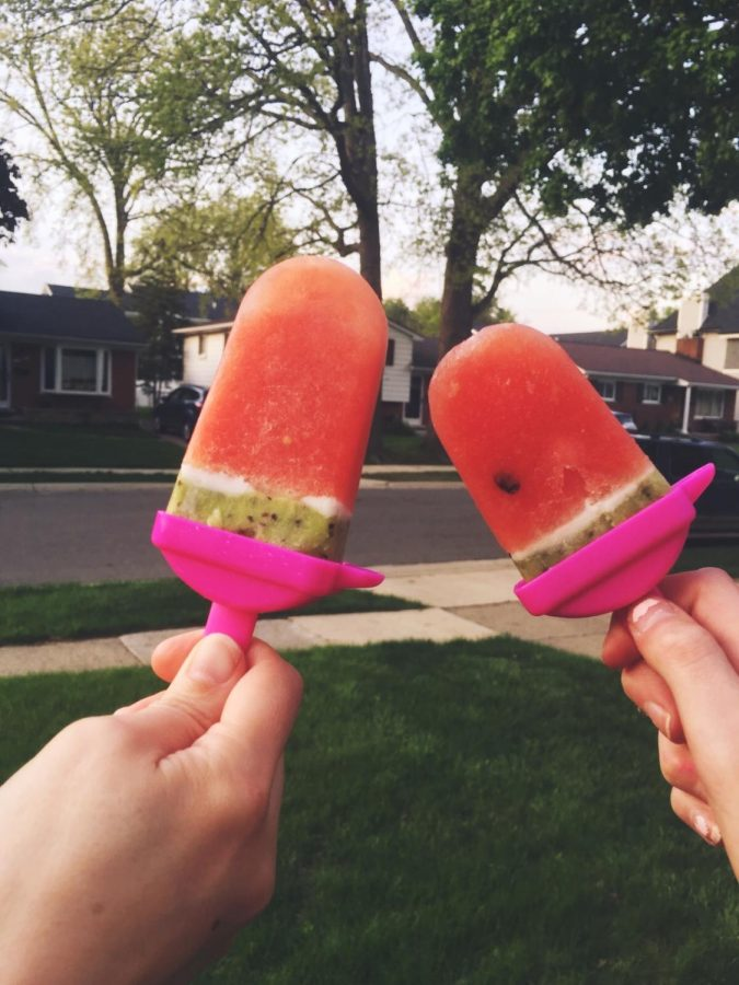 How to Make Watermelon Popsicles