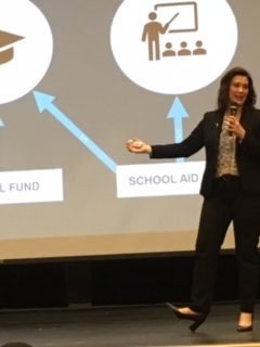 Gov.+Whitmer+explains+how+the+funds+are+being+spent.+