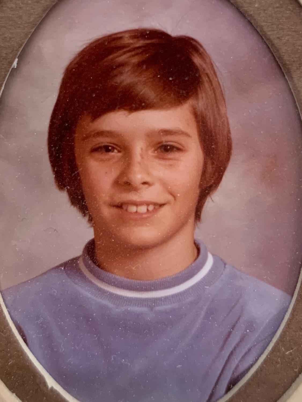 Mr. Smiley's 6th grade picture.