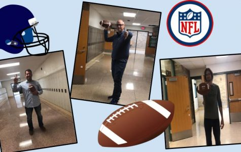 Majszak, Wooster, and Foley fight it out in their Fantasy Football League!