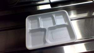 West Middle School should stop using styrofoam lunch trays!