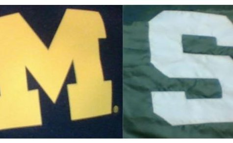 The MSU and U of M Rivalry lives on at West!