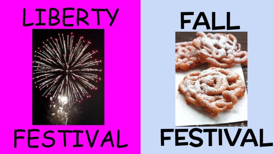 The Liberty Festival and the Fall Festival add to the Plymouth-Canton Community