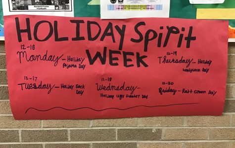 Holiday Spirit Week: 12/16 – 12/20