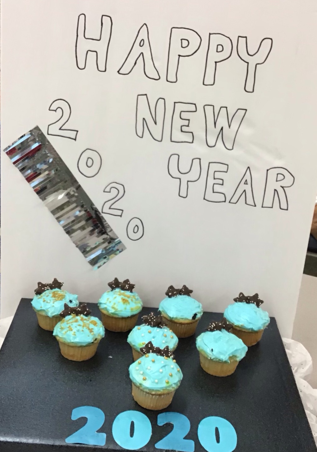 New+Year%27s+Cupcakes