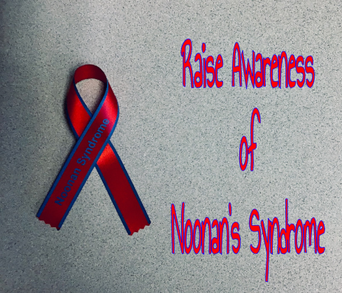 The ribbon for Noonan's Syndrom Awareness.