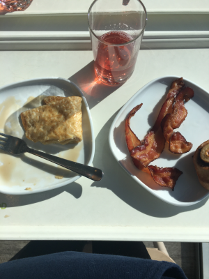 A breakfast at IKEA