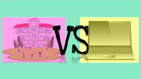 Real School vs. Online School