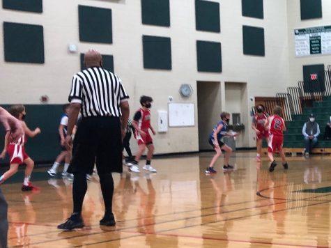 2020 Plymouth-Canton Force basketball.