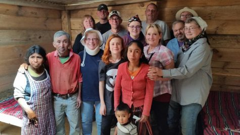 A team in Chi Chi Casinago Guatemala with the family they just finished building a house for.