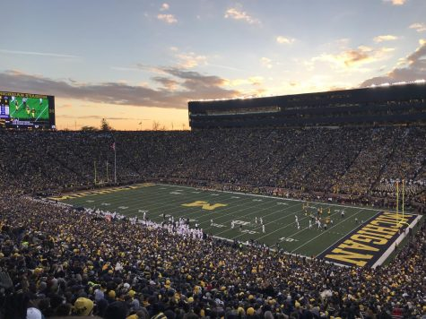 "The ""Big House"" in Ann Arbor."