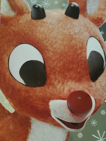 Rudolph the Red-Nosed reindeer!
