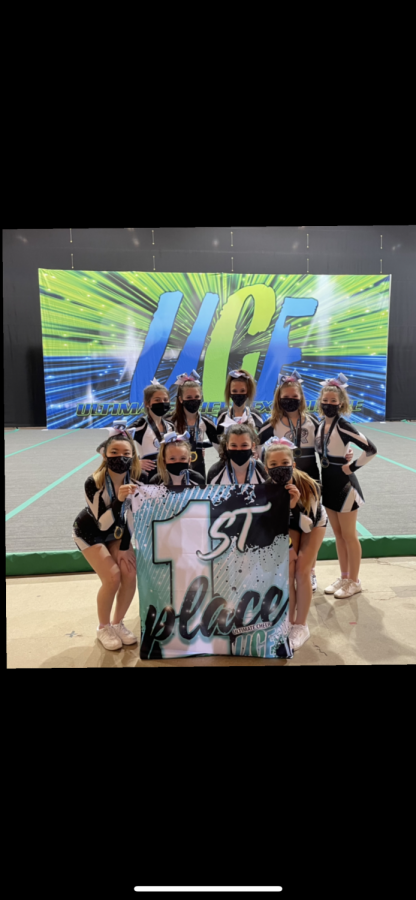 Premier Athletics Competitive Cheer will travel to Orlando, FL on May 1, 2021