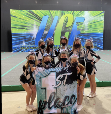 2021 Premier Athletics Competitive Cheer Team